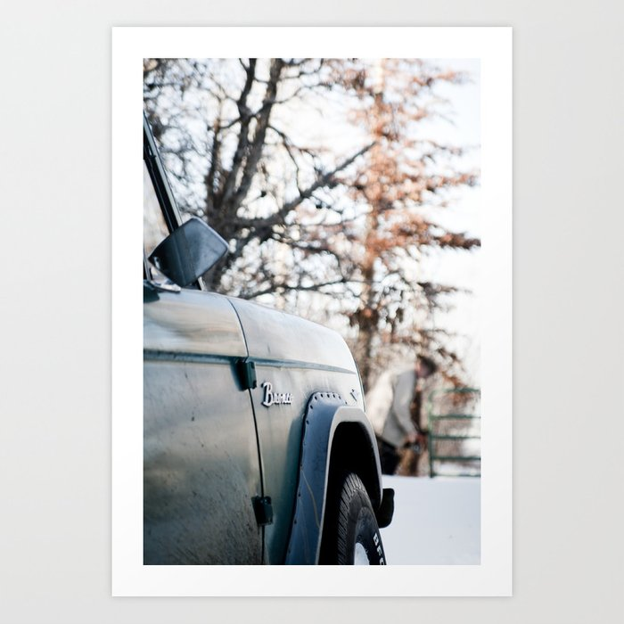 Bronco Art Print
