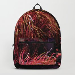 Alien landscape orange autumn surrealist pound Backpack