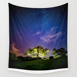 Galaxy Dreams of an Earthling Wall Tapestry