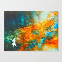galaxy journey Canvas Print