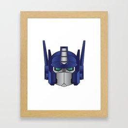 Optimus Prime Framed Art Print