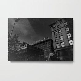 Down To The Sleeping City II Metal Print