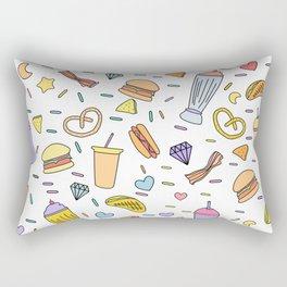 Fast food & Shakes Rectangular Pillow