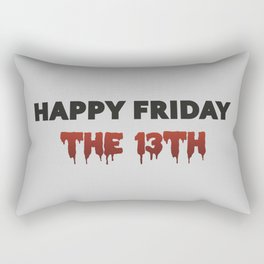The Bloody Friday Rectangular Pillow