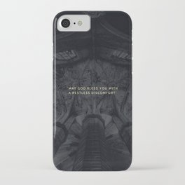 A RESTLESS DISCOMFORT iPhone Case