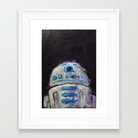 r2d2 Framed Art Prints featuring r2d2 by Thad Taylor Art