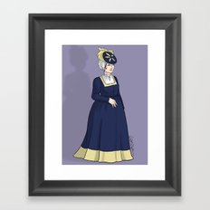 German Woman Framed Art Print