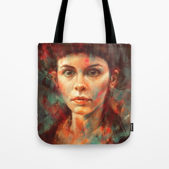 She was always a lonely child. Tote Bag