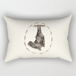 The Hammer Headed Fruit Bat Rectangular Pillow
