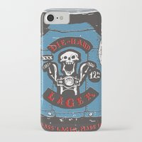 die hard iPhone & iPod Cases featuring Die Hard Lager by Moto
