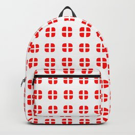 flag of Switzerland - with soft square Backpack