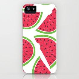 Watermelon Summer iPhone Case