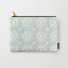 Sweet Siesta Concentric Circles Carry-All Pouch