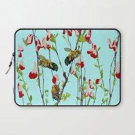 Blue Banded Bee Amegilla cingulata Laptop Sleeve