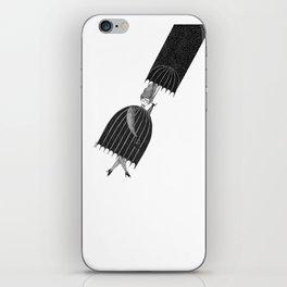 Umbrella woman iPhone Skin