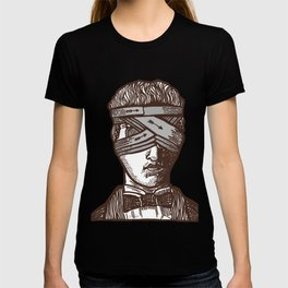 Wrapped Head (transparent) T-shirt