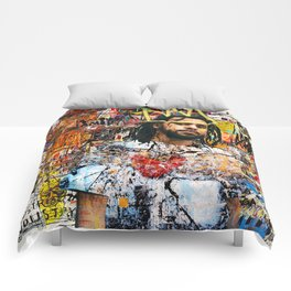 J.Cole Portrait Artwork Comforters