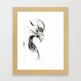 War Eagle Framed Art Print