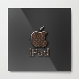 iphone logo Metal Print