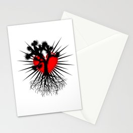 Joshua Tree Heart of the Hi Desert by CEYES Stationery Cards