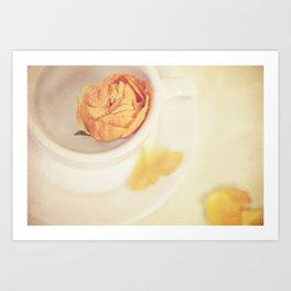 A cup of sweetness Art Print
