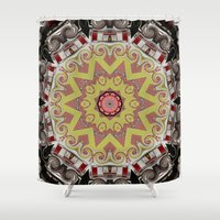 truck Shower Curtains featuring Fire Truck by IowaShots