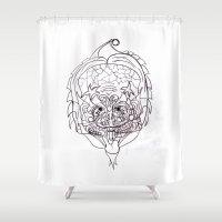 predator Shower Curtains featuring Predator. by sonigque