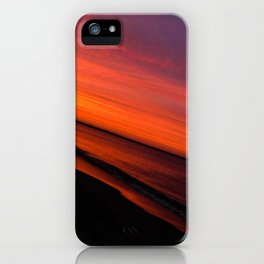 Violent Orange iPhone Case