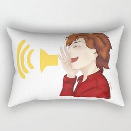 Sonic Scream Rectangular Pillow