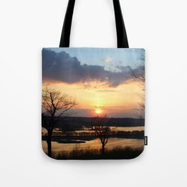 """Sunset Galena"" Tote Bag"