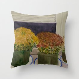 Mums I Tried to Keep Throw Pillow