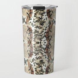 Luxury Snake Print Travel Mug