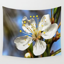 Plum Blossom Wall Tapestry