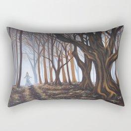Dark Forrest Rectangular Pillow