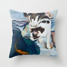 Pretty Fishy Throw Pillow