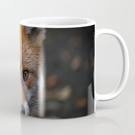 Wild Red Fox Looking At You Coffee Mug