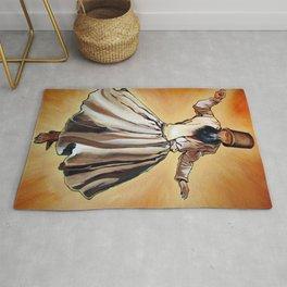 Semasen - Sufi Whirling Dervish Rug