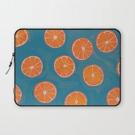 hand-painted california orange slices Laptop Sleeve
