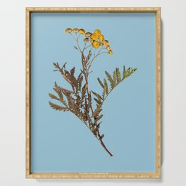 dried flower #1 Serving Tray