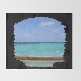 Ocean Portal Throw Blanket