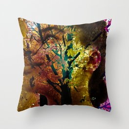 """""""Coming Of Fall"""" Throw Pillow"""