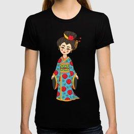 Geisha Japan girl T-shirt