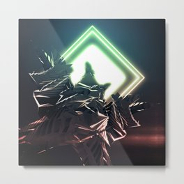 Synthesis Metal Print