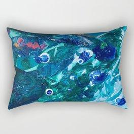 Look Into The Deep Rectangular Pillow