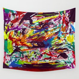 Typhoon Saling (1985) Wall Tapestry