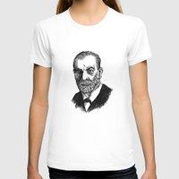 freud T-shirts featuring Freud by Fortunate Tuna