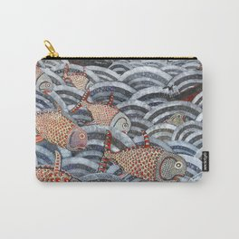 Golden Fishes Carry-All Pouch