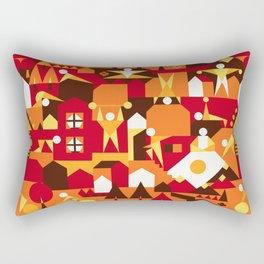 Indoors & outdoors (summer) Rectangular Pillow