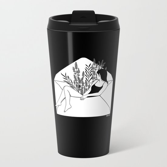 Dear Heartbreaker Metal Travel Mug