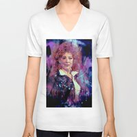 river song V-neck T-shirts featuring River Song by Sirenphotos